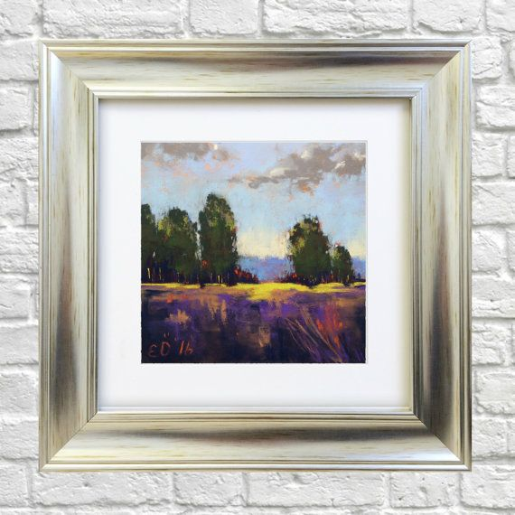Original Pastel Painting Journey by Bluishpurpletrees on Etsy