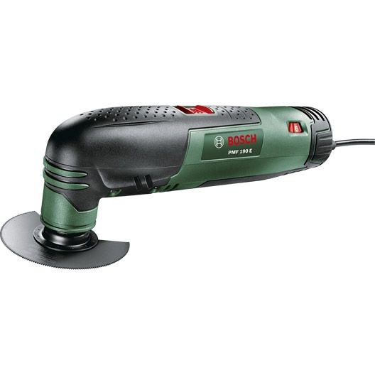Outil multifonctions BOSCH PMF 190E, 190W