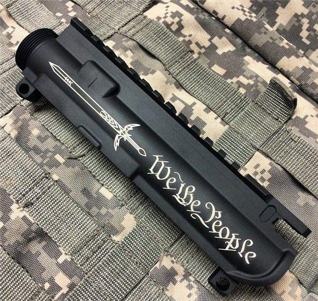 Engraved AR-15 AR15 STRIPPED UPPER 5.56 223 NR : AR15 Parts at GunBroker.com