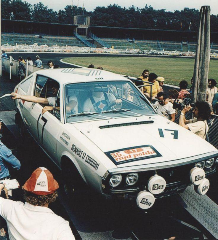 1975 Rajd Polski - Renault 17 Gordini Błażeja Krupy