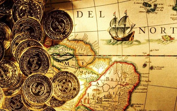 Деньги и карта сокровищ