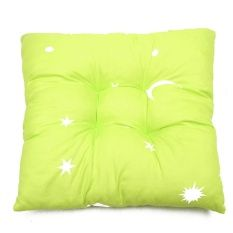 Replacement Moon Stars Printed Soft Square Chair Seat Pad Mat Cushion Sofa Decor Fruit Green