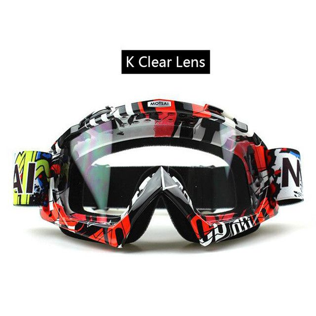 22Colors! Motorcycle Motocross Goggles Anti-distortion DustProof Goggles Anti Wind Eyewear MX Goggles ATV Off Road Universal