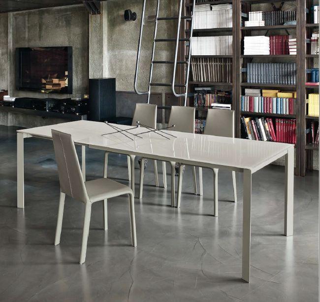 Tavolo Dublino 20.18 L. 160 x P. 90 cm. tavoli moderni allungabili - tavoli