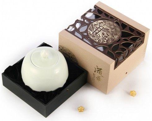安溪铁观音 流华礼盒 包装 #包装# ...@祝青青采集到茶品包装(307图)_花瓣平面设计