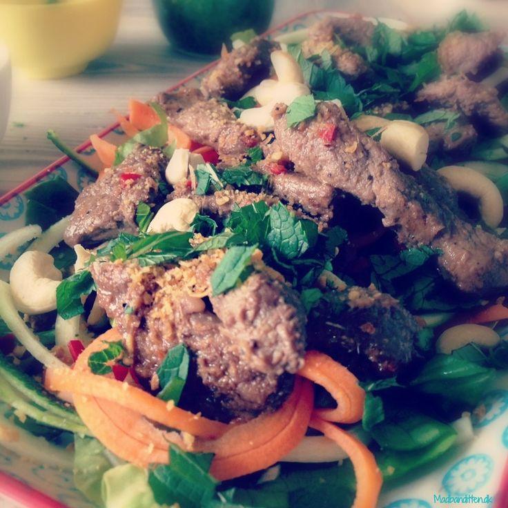 Thai beef salad - paleo