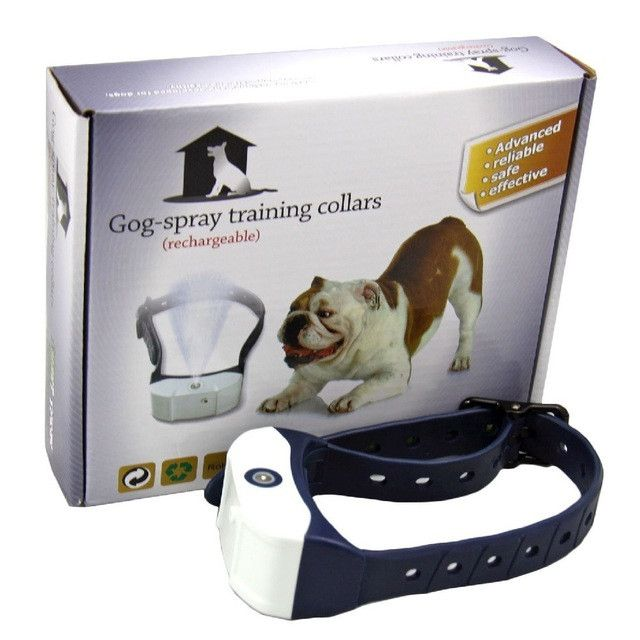 Rechargeable Professional Pet Spray Citronella Control No Barking Collar Training