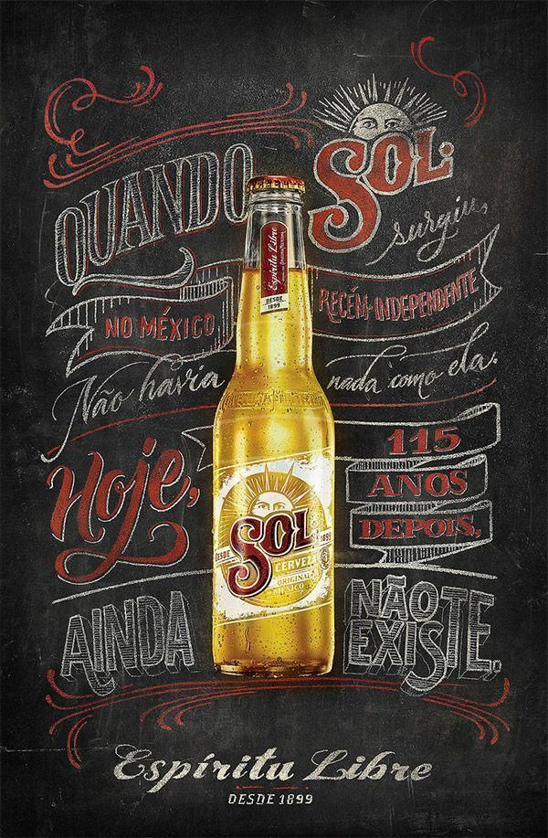 30 Inspirational Chalk Lettering Designs & Wall Murals | Sign