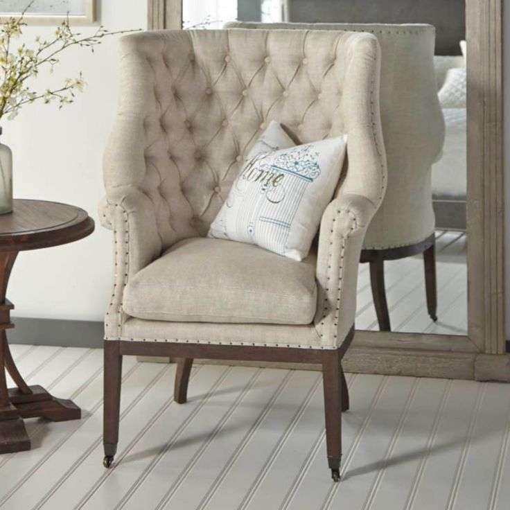 Fabulous Orient Express Furniture Chalet Wingback Accent Chair UP BIS BT RJAV