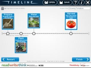 Простой сервис позволяющий создавать ленты времени. Есть приложение для мобильного.