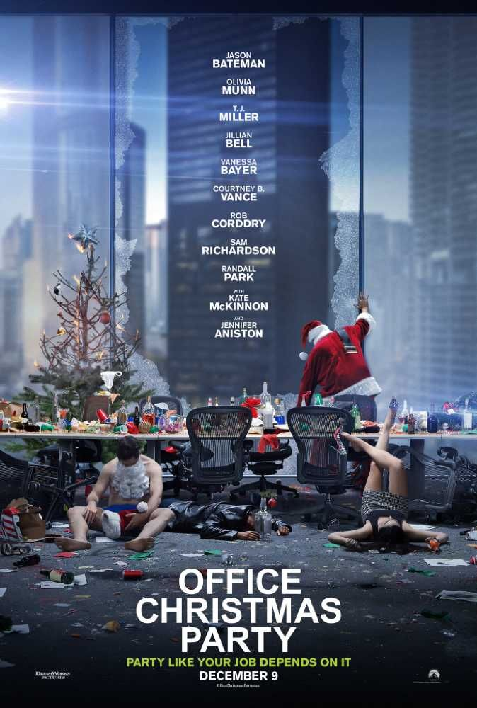 Watch Office Christmas Party (2016) Movie Online Free