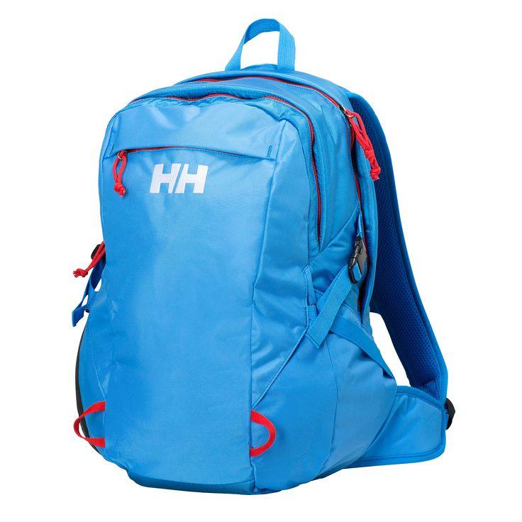 Helly Hansen Panorama 2.0, 23 literes hátizsák kék színben. laptop és tablet rekesszel ellátva.