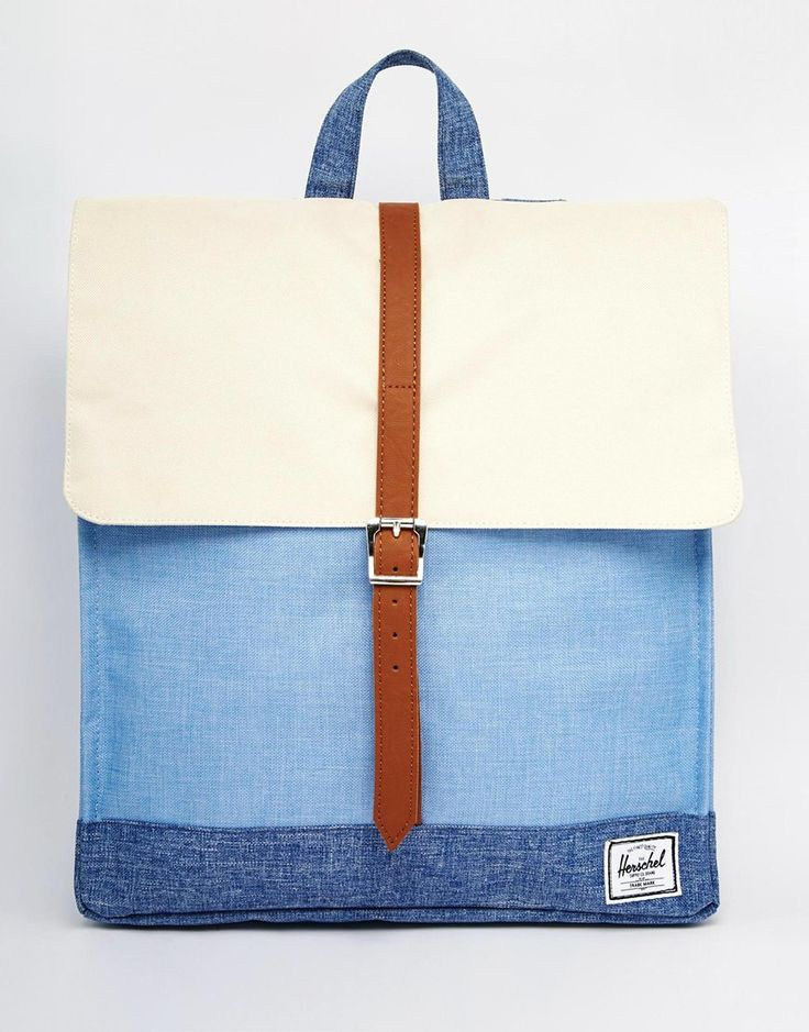 Image 1 of Herschel Supply Co City Backpack in Chambray Colour Block