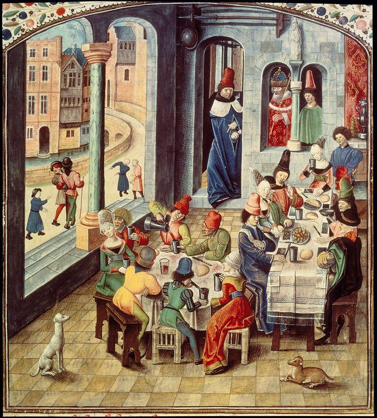 Burgundische Buchmalerei, staatliche Bibliothek Berlin