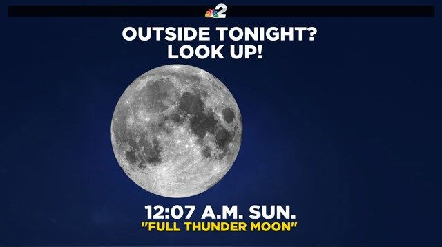 Weather Blog: Watch for tonight's thunder moon - NBC-2.com WBBH News for Fort Myers, Cape Coral & Naples, Florida