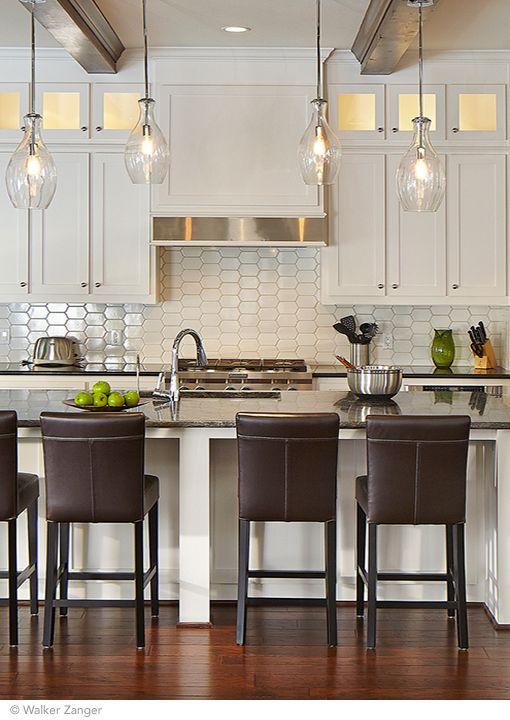 6th Avennue Collection By Walker Zanger Looking Gorgeous As A Kitchen Backsplash Available At World Hex Tilebacksplash Tilemosaic