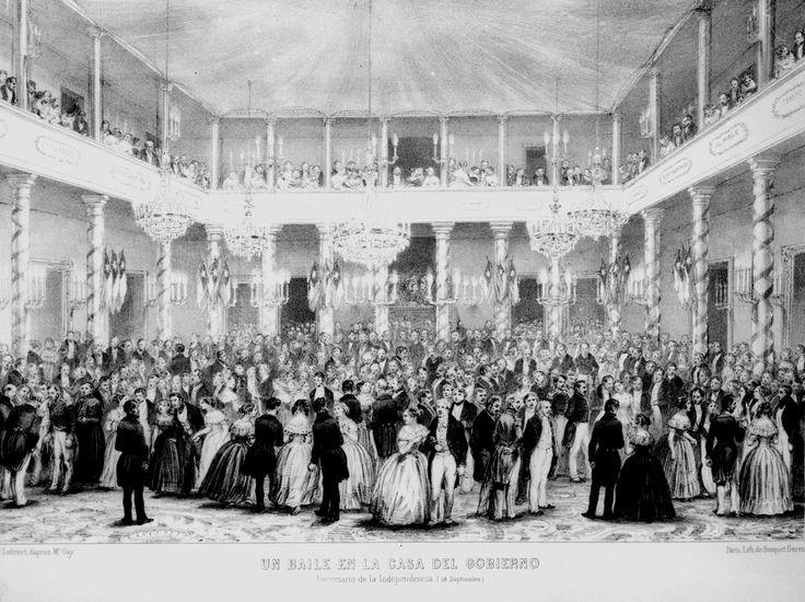 Celebración de la independencia en los primeros años de la república según Claudio Gay