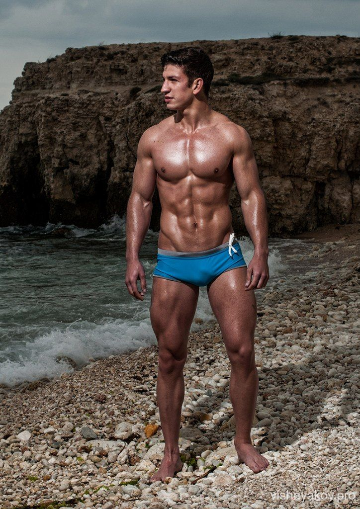 Nikita Gutsu, male fitness model | © Andrei Vishnyakov ...