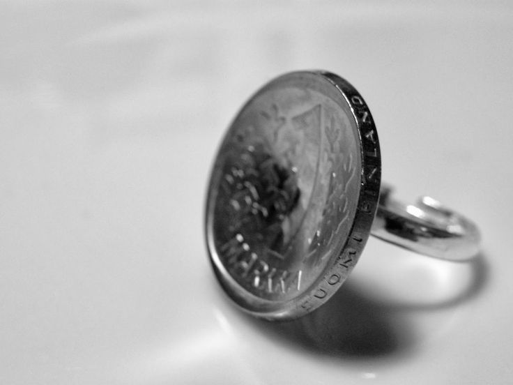 1 mk coin ring