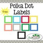 A set of free printable polka dot labels for your classroom. Labels come in 10 colors plus a set of bold black dots. Small commercial use on TPT okay -- please read my Terms of Use!  Note: This is a Zip file containing all of the individual labels as images (graphics), so you can upload them into your own program yourself (MS Word, MS PowerPoint, Mac Pages, etc.) You will be able to add clipart or text to the labels in your word processing program or an image editing program, such as ...