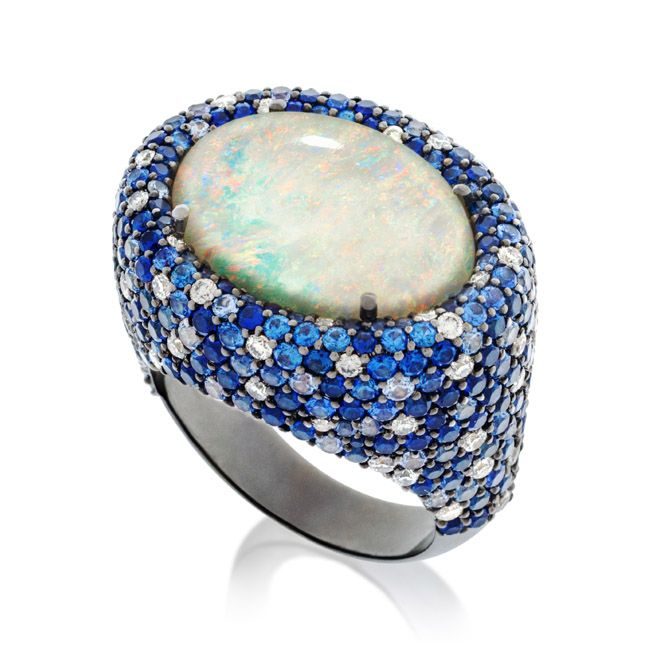 By Amsterdam Sauer ~ Mystical and vibrant jewelry in a delicate synergy representing the Universe.