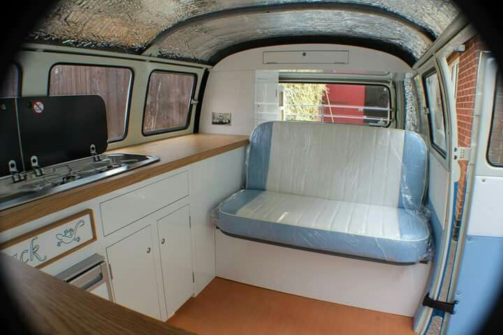 Richard Booth Design Interior In A 1964 Vw Split Screen Split Screen Camper Van Interiors
