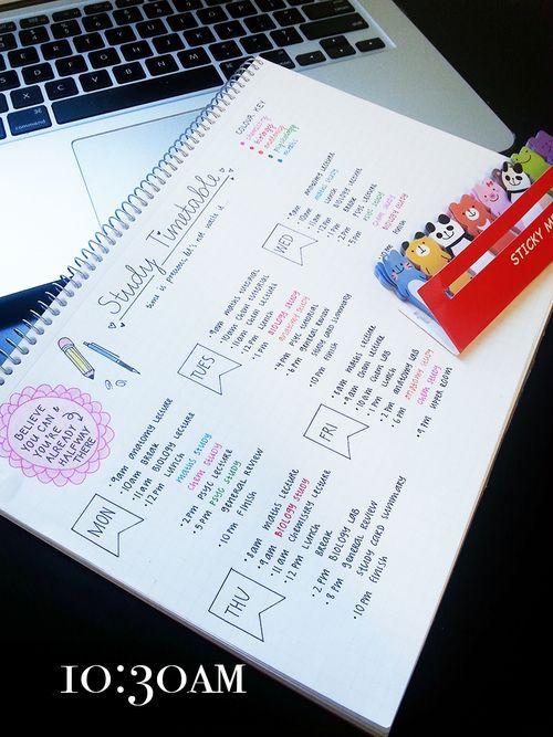 Imagen de college, motivation, and notes: