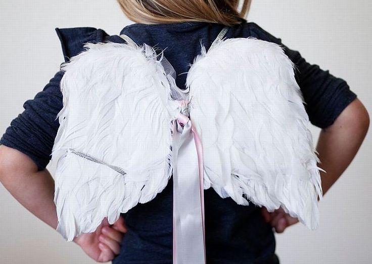 skrzydła anioła, jak przebrać dziecko za anioła