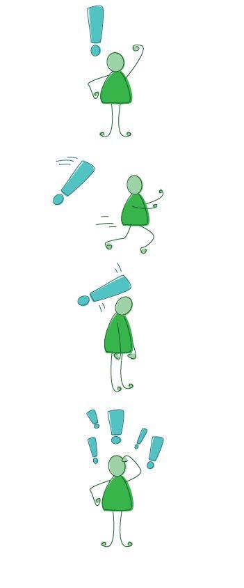 Green stickman