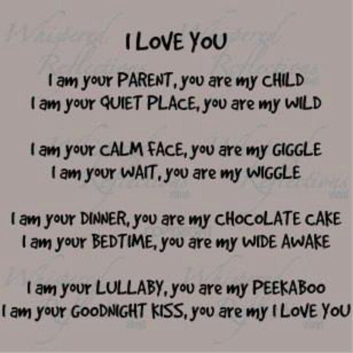 I Love Mom And Dad Poems 17 Best images about P...