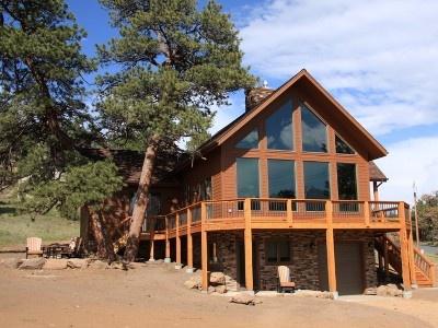 Estes park vacation rental vrbo 408361 3 br front for Vacation colorado cabins