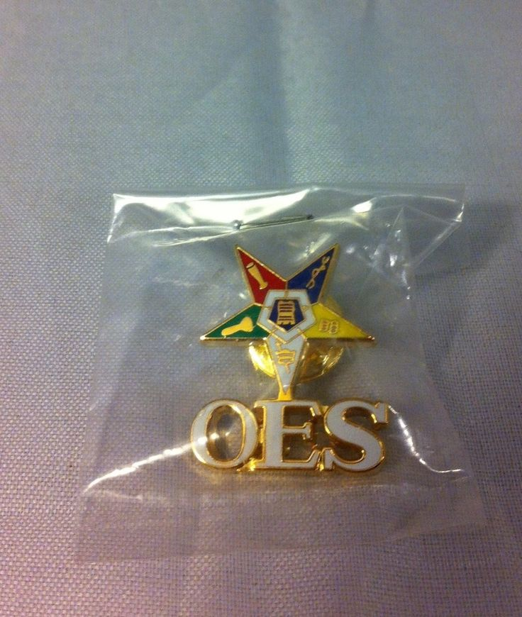 Brothers and Sisters' Greek Store - Order of the Eastern Star Symbol Lapel Pin, $5.99 (http://www.brothersandsistersgreekstore.com/order-of-the-eastern-star-symbol-lapel-pin/)