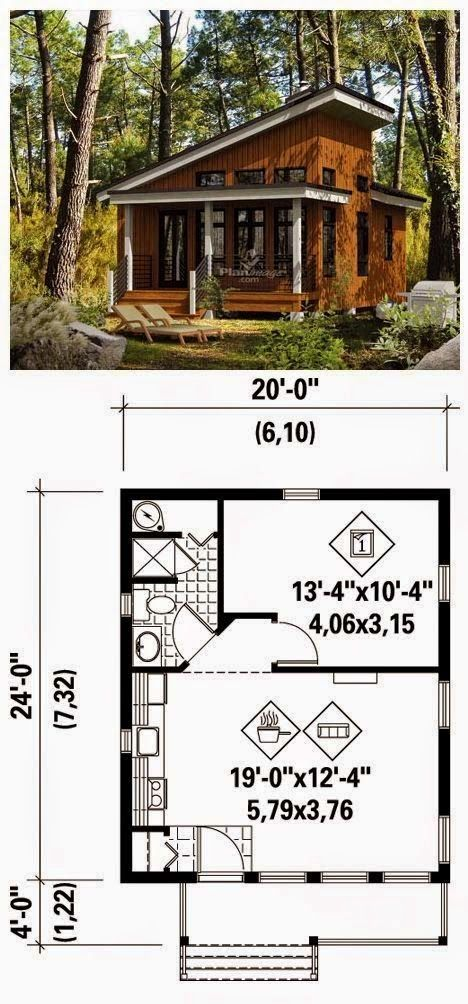 Prob one of the best tiny home layout I've seen yet. Just needs a small fireplace in the great room.