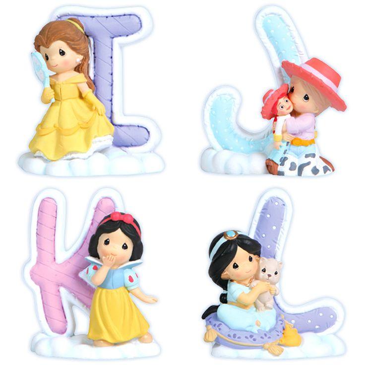 Precious Moments Disney Alphabet I-L