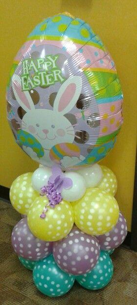 Easter Ballon column