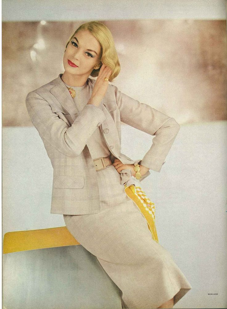 March Vogue 1956    A gorgeous photo of Jean! Photographed by John Rawlings.