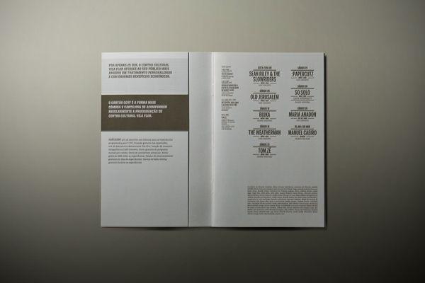 Inside the CCVF brochure