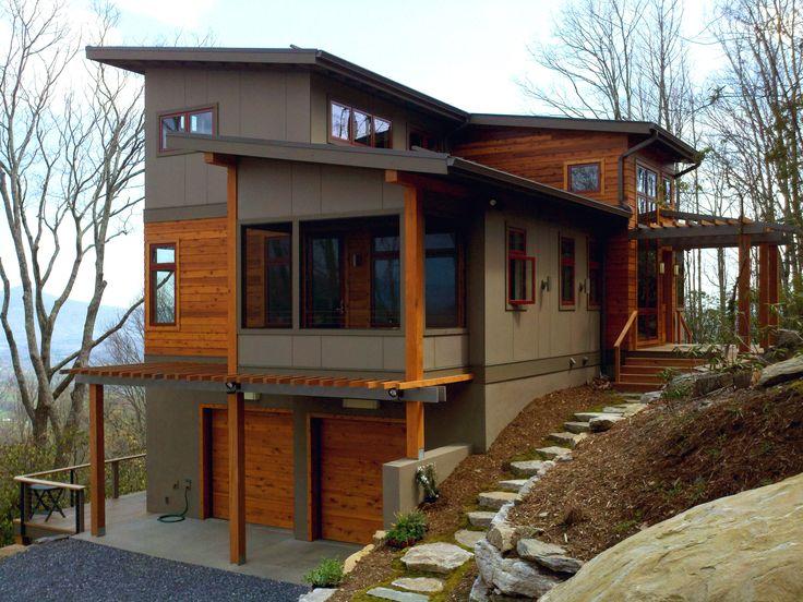 Pinkerton corner steep land homes pinterest chalet for Nouvelles conceptions et plans de maison