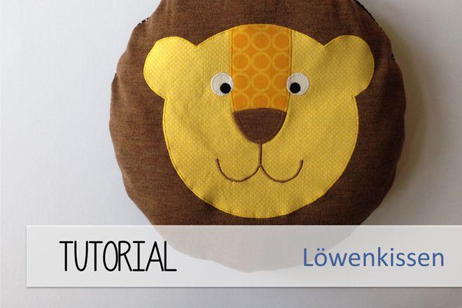 Löwen-Kissen l FREEbook von tepetua