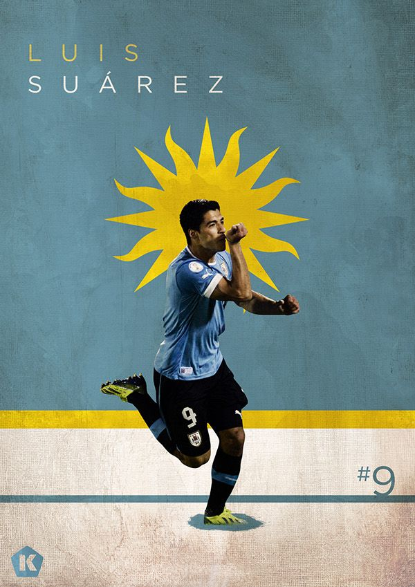 Top 10 Stars at the World Cup | KICKTV by Luke Barclay, via Behance