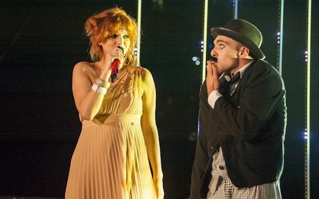 Chiara al sesto Live Show (manche dance)