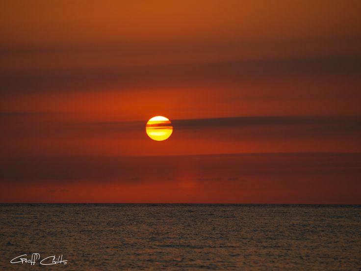 Australian_ocean_sunset Digital-delivery Sunset nature cloud photo, desktop sky wall art, seascape landscape poster