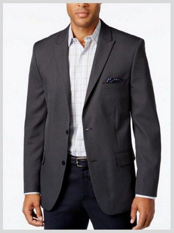 DO: A classic, dark grey jacket is definitely appropriate funeral attire for men. #loveliveson