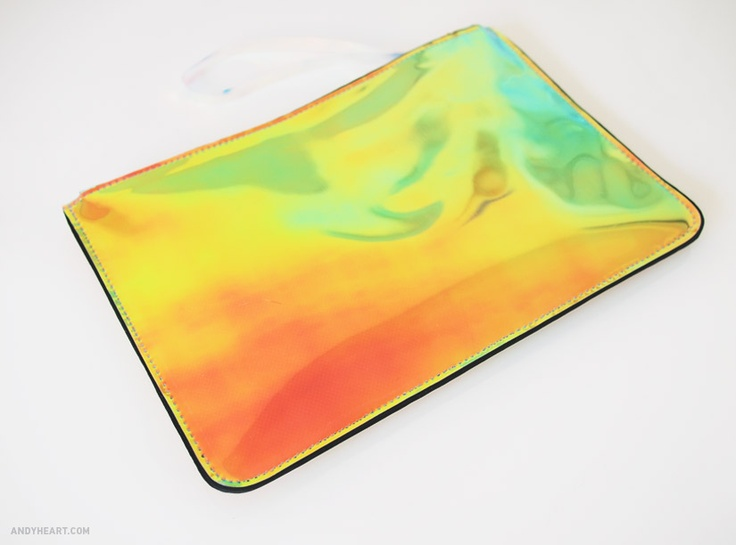 HOLOGRAPHIC H clutch | Andy Heart | Pinterest | Clutches and Html