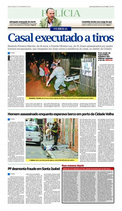 Jornal O Liberal.
