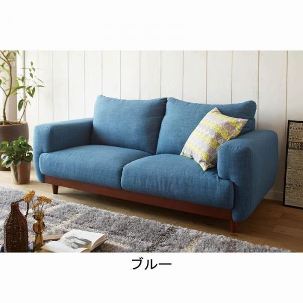 シンプルなデザインにボリューム感をプラスして、座り心地の良いソファーワイドな座面は横向きに座ってゆったりくつろぐことも可能。定番カラーのグレー、ベージュだけではなく、お洒落なブルーも新色で登場 (検索用)カラー展開:ベージュ ブルー グレー 10z423■商品サイズ/幅170・奥84・高さ74cm〔座面高〕40cm■品質/〔表地〕(グレー、ベージュ共通)ポリエステル84.5%・綿9%・レーヨン5.5%・ナイロン1%(ブルー)ポリエステル100%〔中材〕ウレタンフォーム・木枠・Sバネ…