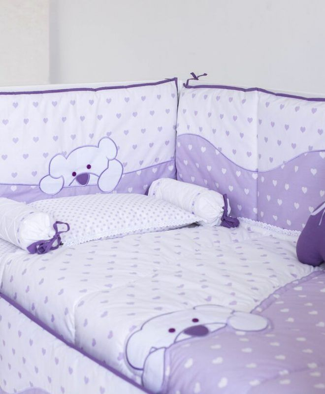 Export Quality Baby Cot Bedding Set Wedding Gift Best Quality