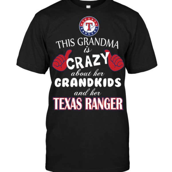 This grandma is crazy about her grandkids and her Texas Rangers – POISETEE