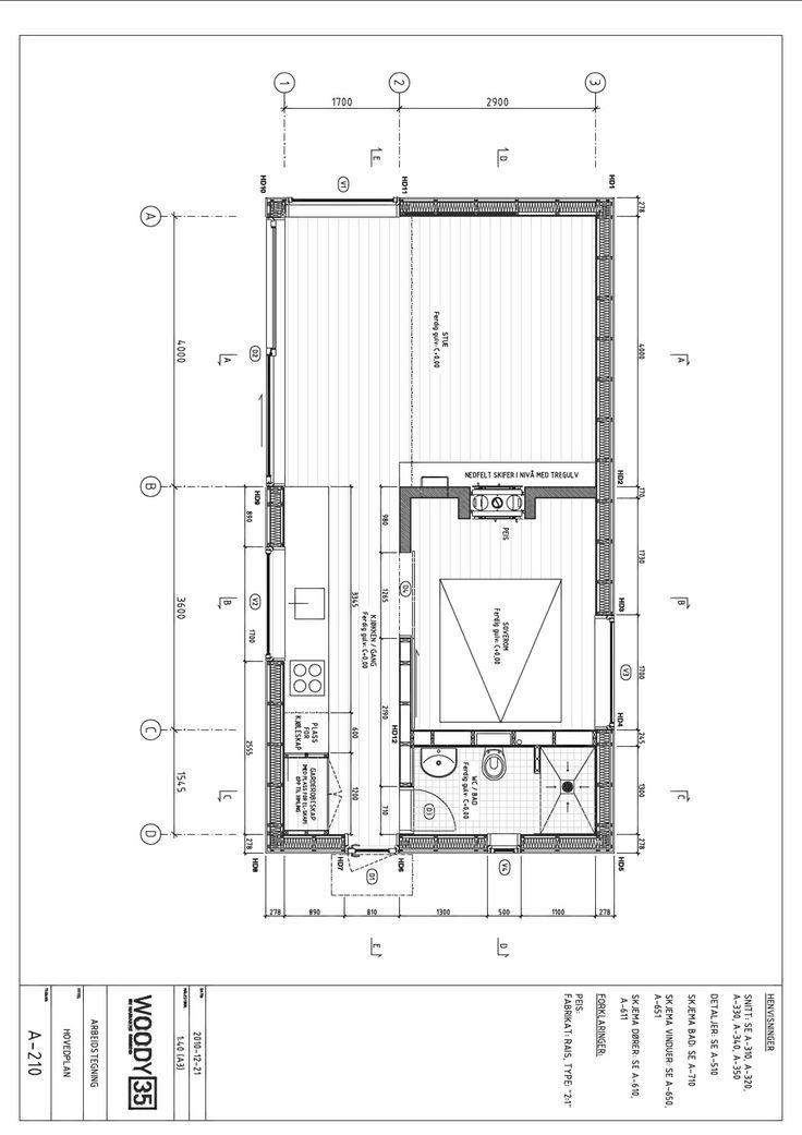 Arkitekttegnet hytte på 35 kvadratmeter - Arkitektur