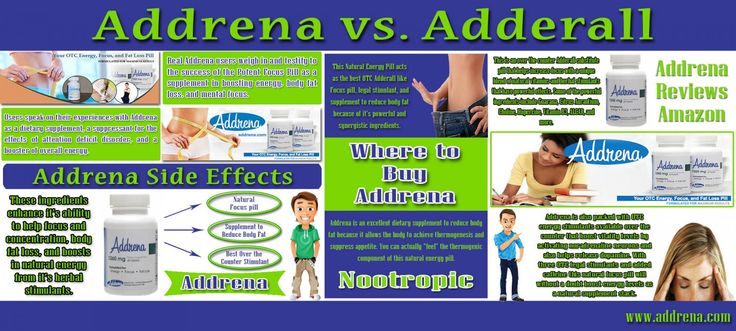 Check this link http://www.addrena.com/adhd-med-alternative-addrena-testimonials/ right here for more information on Addrena Side Effects. Once ADHD has been identified the next step is finding an ADHD med without side effects. At first glance this may seem like a fairly easy task with all of the current prescription treatment options available. Therefore it is important that you opt for the best medicine and also learn about Addrena Side Effects.Follow us…